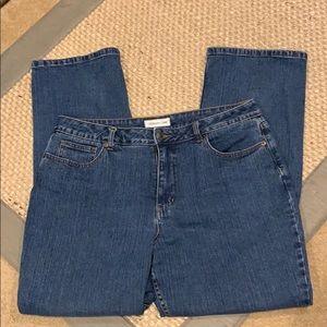 Coldwater Creek Denim Jeans Sz 16 Petite